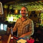 Madalin Table's resident bartender, Daniel