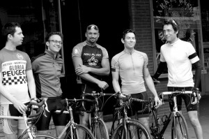 Five of the Six Riders that comprise the Project 19 Empire State AIDS Ride Team. Come meet them and learn more about their upcoming ride at the Pride Preview Party on May 29th.