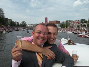 Our Wedding in Amsterdam; Once its Legal in New York, We'll do it again!
