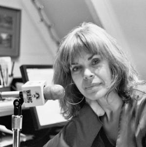 WAMC's Susan Barnett, photo by DB Leonard