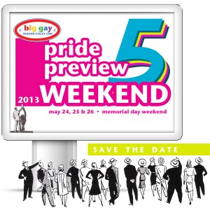 Pride Preview Weekend 2013 Save the Date