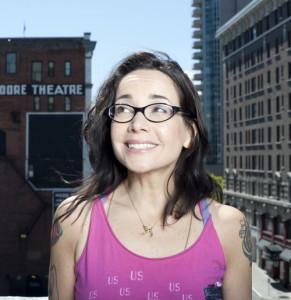 Janeane Garofalo in Seattle