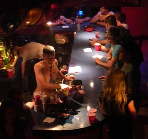 Last Saturday's Night brought out a huge crowd for the underwear party at Prime Time!