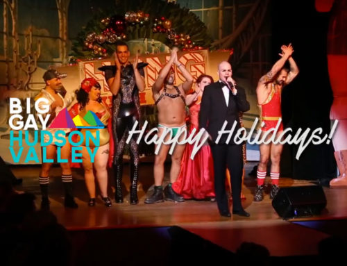 WATCH: Happy Holidays from Big Gay Hudson Valley!
